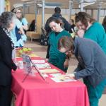SCENES FROM THE HEALTH FAIR AND POSTER SESSION