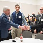 "GOV. SNYDER ATTENDED THE ""MARSHALL PLAN FOR TALENT"" WORKSHOP AT THE UNIVERSITY CENTER."