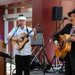 THE MUSIC OF CUBA'S GOLDEN AGE OF THE 1940s AND 1950s WAS PERFORMED BY LOS PERROS CUBANOS.