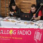 BULLDOG RADIO JOINED THE CAUSE AT THE UNIVERSITY CENTER.