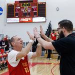 ANDY BRONKEMA WAS THE NCAA DIVISION II COACH OF THE YEAR. . .