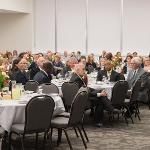 THE ANNUAL EMPLOYEE SERVICE AWARD CELEBRATION WAS HELD AT THE UNIVERSITY CENTER.