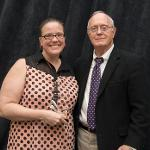 THE RICHARD W. GRIFFIN POLITICAL ENGAGEMENT AWARD WENT TO KRISTI SCHOLTEN.