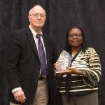 OLUKEMI FADAYOMI WAS HONORED WITH THE DIVERSITY ENHANCEMENT AWARD.
