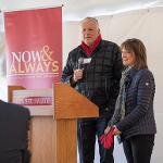 KEN JANKE JR. AND HIS WIFE, KIM, DONATED A MAJOR GIFT TO HONOR HIS FATHER, KEN JANKE SR.