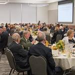 THE SOCIETIES OF DISTINCTION DINNER SALUTED THOSE WHO HAVE GENEROUSLY SUPPORTED FERRIS' MISSION AND CORE VALUES.