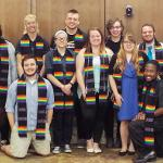 THE LGBTQ+ RESOURCE CENTER HELD ITS GRADUATION CEREMONY.
