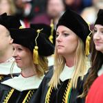 NEARLY 2,000 GRADUATES PARTICIPATED IN SIX COMMENCEMENT CEREMONIES IN BIG RAPIDS AND GRAND RAPIDS.
