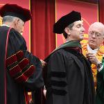 . . .WAS AWARDED AN HONORARY DOCTORATE OF HEALTH PROFESSIONS.