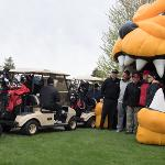 THE ALUMNI ASSOCIATION HOSTED ITS ANNUAL GOLF OUTING AT THE FORTRESS GOLF COURSE IN FRANKENMUTH.