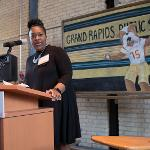 """THE GRAND RAPIDS PUBLIC SCHOOLS ARE A MAJOR PARTNER IN THE """"GROWING OPPORTUNITY"""" INITIATIVE."""