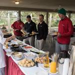 SCENES FROM THE ANNUAL ALUMNI ASSOCIATION GOLF OUTING