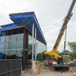 RENOVATIONS TO THE STUDENT RECREATION CENTER CONTINUE ON SCHEDULE. . .
