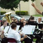 THE FERRIS COMMUNITY SUMMER BAND OPENED ITS 53rd SEASON. . .