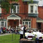 ...WITH A CONCERT ON THE LAWN OF THE HISTORIC OLD JAIL IN BIG RAPIDS.