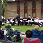 THE CONCERT WAS THE FIRST OF SIX PERFORMANCES THROUGH JULY 3 BY THE SUMMER BAND.