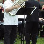 EUPHONIUM PLAYER ED MALLETT
