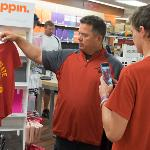 STUDENTS AND THEIR FAMILIES BROWSED THE FSU BOOKSTORE IN THE UNIVERSITY CENTER.