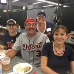 THE OUTING INCLUDED A PRE-GAME RECEPTION AND LUNCH AT THE BALLPARK.