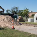 SUMMER IMPROVEMENTS TO THE FERRIS CAMPUS CONTINUE ON SCHEDULE.