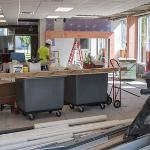 RENOVATIONS TO THE CLARK HALL ENTRANCE, LOBBY, LOUNGE AND COMMON SPACES