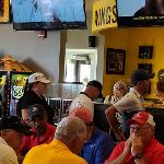 A POST-OUTING RECEPTION WAS HOSTED BY BUFFALO WILD WINGS.