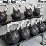 KETTLEBELLS HAVE BEEN ADDED TO THE NEW WEIGHT ROOM IN THE STUDENT RECREATION CENTER.
