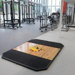 SCENES FROM INSIDE THE STUDENT RECREATION CENTER