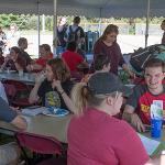 THE COLLEGE OF EDUCATION AND HUMAN SERVICES HELD A MIXER FOR ITS FRESHMEN AND FACULTY.