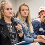 THE OPEN DISCUSSION GAVE STUDENTS THE CHANCE TO DISCUSS AND DEBATE MATTERS OF FREE SPEECH IN THE MEDIA AND IN THE U.S.