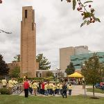 THE FERRIS HISTORY TASK FORCE CELEBRATED THE 50th ANNIVERSARY OF THE DEDICATION OF THE CARILLON TOWER.