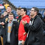 THE BULLDOG BASKETBALL TEAM WAS RECOGNIZED AT FIFTH THIRD BALLPARK FOR THEIR 2018 NCAA II NATIONAL CHAMPIONSHIP.
