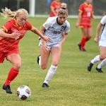 THE WOMEN'S SOCCER TEAM REPRESENTS ANOTHER NATIONALLY RANKED TEAM FOR BULLDOG ATHLETICS.