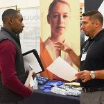 OVER 300 EMPLOYER GROUPS ATTENDED THE LARGEST CAREER AND INTERNSHIP FAIR IN FSU HISTORY.