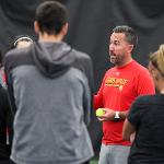 COACH MARK DOREN HAS ALSO SERVED AS THE ADMINISTRATIVE ASSISTANT FOR THE PROFESSIONAL TENNIS MANAGEMENT PROGRAM AT FERRIS.