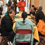 "THE FIRST ANNUAL ""BULLDOG ASADA"" WAS HOSTED BY THE CENTER FOR LATIN@ STUDIES."