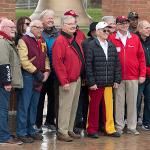 THE UNDEFEATED 1968 BULLDOG FOOTBALL TEAM GATHERED FOR ITS 50th REUNION.