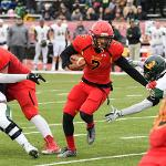 QB JAYRU CAMPBELL WAS NAMED THE GLIAC OFFENSIVE PLAYER OF THE WEEK FOR THE FIFTH TIME THIS SEASON.