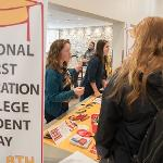 THE UNIVERSITY CENTER ALSO HOSTED A FIRST GENERATION STUDENT CELEBRATION.