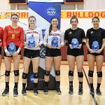 THE ALL-GLIAC FIRST TEAM INCLUDES BULLDOGS KATIE PLACEK, MAEVE GRIMES AND ALLYSON CAPPEL.