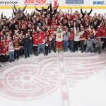 THE EVENT DREW 630 BULLDOG FAITHFUL WHO ENJOYED A 3-2 RED WINGS VICTORY.