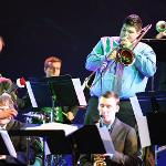 THE FERRIS JAZZ BAND PERFORMED ITS HOLIDAY CONCERT AT WILLIAMS AUDITORIUM.