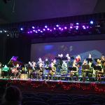 "THE THEME FOR THE CONCERT WAS ""A JAZZ CHRISTMAS."""