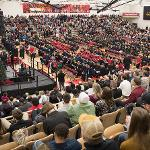 NEARLY 1,000 GRADUATES RECEIVED THEIR DEGREES AT THE CONCLUSION OF FERRIS STATE'S FALL SEMESTER.