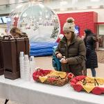STUDENTS WERE GREETED FOR THE NEW SEMESTER WITH A FAMILY FRIENDLY WINTER WONDERLAND CELEBRATION.