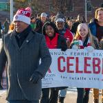 THE 33rd ANNUAL MARTIN LUTHER KING JR. FREEDOM MARCH WAS A HIGHLIGHT OF MLK DAY AT FERRIS.