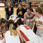 WOMEN'S BASKETBALL HAS WON 4 STRAIGHT GAMES TO PUSH ITS RECORD TO 11-7.