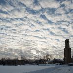 A POLAR VORTEX GRIPPED THE CAMPUS, CAUSING THE CANCELLATION OF CLASSES FOR 3 DAYS.