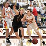 WOMEN'S BASKETBALL GAVE NATIONALLY-RANKED ASHLAND ALL IT COULD HANDLE IN A TOUGH 91-79 LOSS.