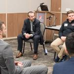 THE INAUGURAL BIZ-COMM SPORTS SUMMIT WAS HOSTED BY THE FSU PUBLIC RELATIONS PROGRAM.